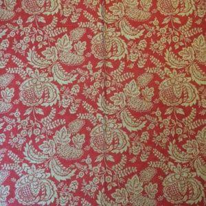 Vintage Portfolia  Grande Galleria Fabric